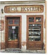 Little Craftsman' Shop - Micul Meserias Wood Print