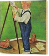 Little Craig Wood Print