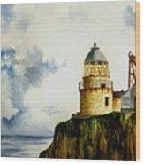 Little Cumbrae Lighthouse Wood Print