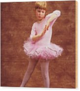 Little Dancer Wood Print