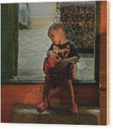 Little Drummer Boy Wood Print