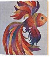 Little Fish Wood Print