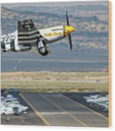 Little Horse Gear Coming Up Friday At Reno Air Races 16x9 Aspect Wood Print