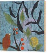Little Nemo Bird Wood Print