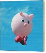 Little Piggy Wood Print
