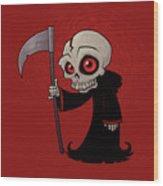Little Reaper Wood Print