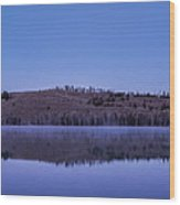 Little Red Fish Lake Wood Print