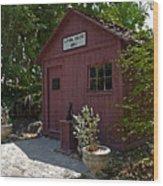 Little Red Schoolhouse Three Wood Print