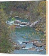 Little River Canyon Wood Print