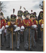 Little Soldiers IIi Wood Print
