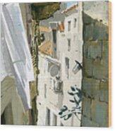 Little Street In Dubrovnik Wood Print