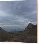 Little Sycamore Canyon Road Wood Print
