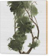 Little Tree 129 Wood Print