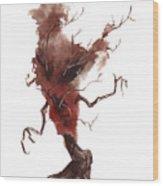 Little Tree 42 Wood Print