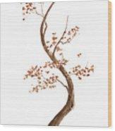 Little Tree 62 Wood Print