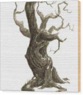 Little Tree 78 Wood Print