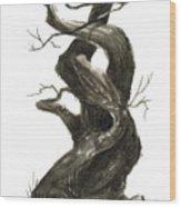 Little Tree 79 Wood Print