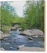Little Unami Creek - Pennsylvania Wood Print