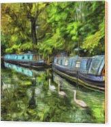 Little Venice London Art Wood Print