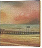 Littlehampton Beach Wood Print