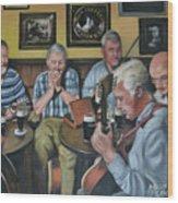 Live At Matt Molloy's Pub Wood Print