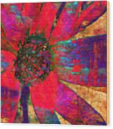 Living Color Wood Print