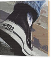 Living In Converse - Hurries In Converse Wood Print