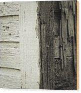 Living On The Edge Wood Print