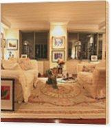Living Room IIi Wood Print