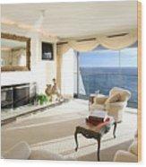 Living Room Wood Print
