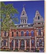 Livingston County Courthouse 1 Wood Print