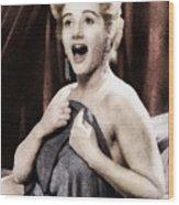 Liz Fraser, Vintage British Actress Wood Print