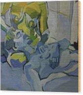 Liz N' Brian Pieta Wood Print
