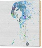 Liza Minnelli Wood Print by Naxart Studio