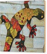 Lizard Wall Art Wood Print