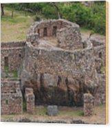 Llactapata Ruins Wood Print