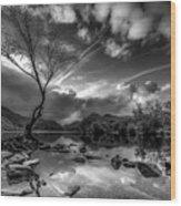 Llanberis, Wales Wood Print