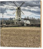 Llancayo Mill Usk 2 Wood Print