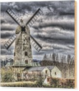 Llancayo Mill Usk 3 Wood Print
