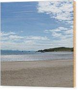 Llanddwyn Panoramic Wood Print
