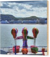 Llandudno Fun For The Kids On The Pier Wood Print