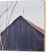 Lloyd Shanks Barn1 Wood Print
