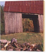 Lloyd Shanks Barn2 Wood Print