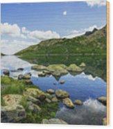 Llyn Lydaw Wood Print