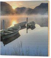 Llyn Nantlle Uchaf Wood Print