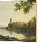 Llyn Peris And Dolbadarn Castle, North Wales Wood Print