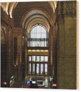 Lobby Of Woolworth Building Wood Print