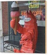 Lobsta Wood Print