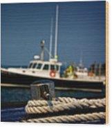 Lobster Boat I Wood Print