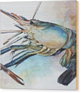 Lobster_001 Wood Print